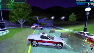 NFS 4: High Stakes - Police Chase Gameplay - Chev. Corvette, Celtic Ruins map