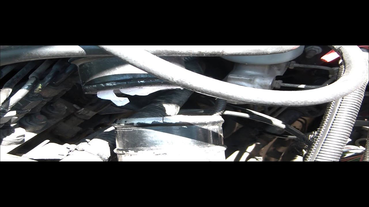 98 dodge ram 2500 12v cummins vacuum pump and power steering pump removal [ 1280 x 720 Pixel ]