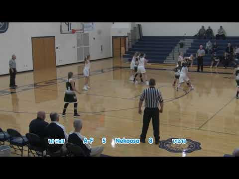 Nekoosa Girls Basketball vs. Adams 1-12-18