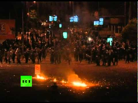 Video of Israel embassy in Cairo stormed by Egypt protesters