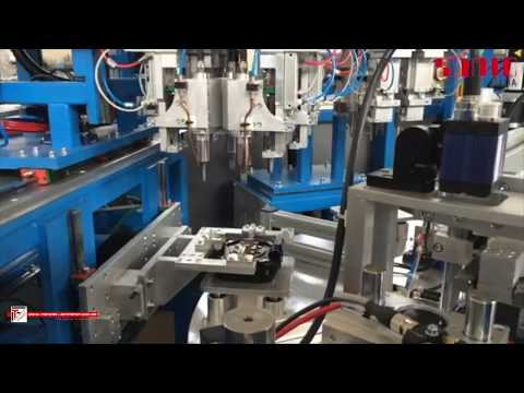 Ultrasonic welding applications  in automatic systems for plastic automotive fields - Sonic Italia