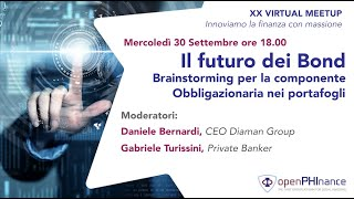 XX Virtual Meetup - Il futuro dei Bond