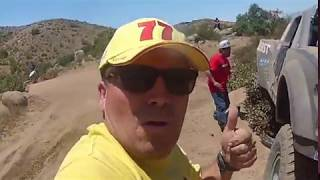 baja 500 2017 accident trophy 19 terrible herbst hits rock