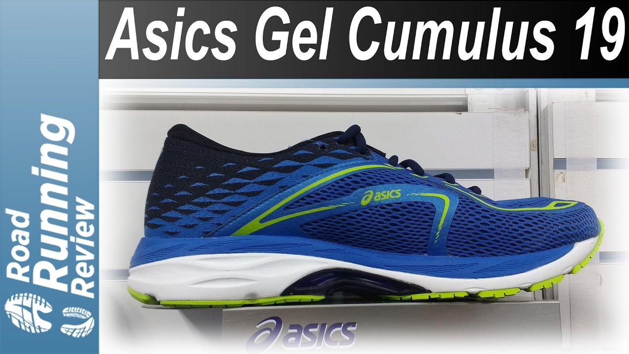 fascismo alcanzar cráter  Asics Gel Cumulus 19 Preview - YouTube