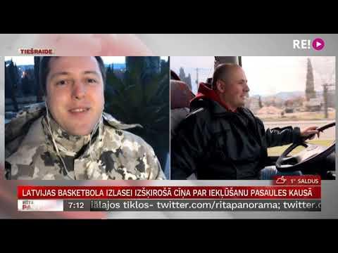 Latvijas basketbola izlasei izšķirošā cīņa par iekļūšanu pasaules kausā