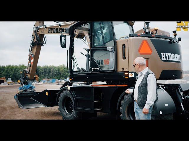 Utskjutbar trappa till grävmaskiner signerat Näs Motor & Maskin AB
