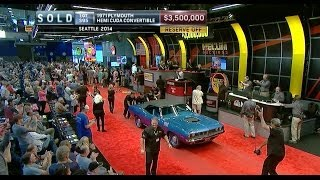 MECUM SOLD $3.5 Million - 1971 Plymouth Hemi Cuda Convertible