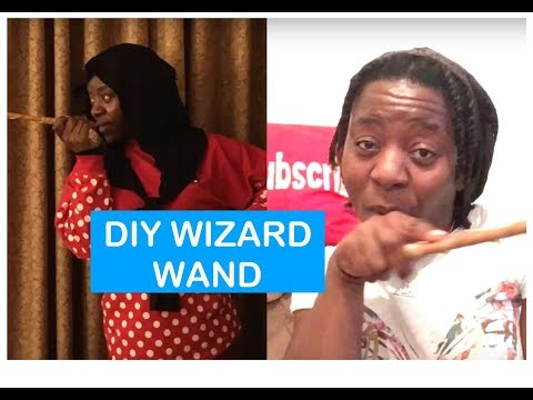 DIY Wizard Wand inspired by Harry Potter