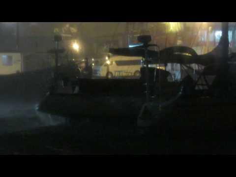 Windy Night in Cape Town Port