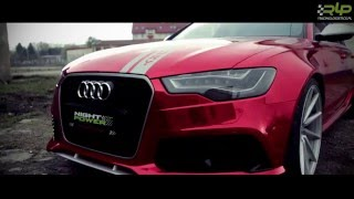 AUDI RS6 1000 HP+ IN RED CHROM by Racing Logistics Performance