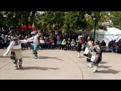 Santa Fe Indigenous Day Commemoration 2018 - Zuni Eagle Dance Group thumbnail