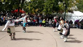 Santa Fe Indigenous Day Commemoration 2018 - Zuni Eagle Dance Group