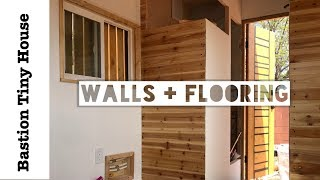 Tiny House Interior Walls And Flooring