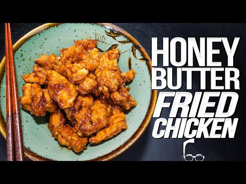 HONEY BUTTER FRIED CHICKEN | SAM THE COOKING GUY 4K