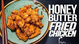 HONEY BUTTER FRIED CHICKEN | SAM THE COOKING GUY 4K