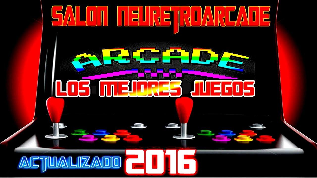 New Retro Arcade Los Mejores Juegos Actualizado 2016 Youtube