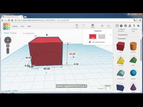 Tinkercad: CAD e stampa 3D per bambini e ragazzi