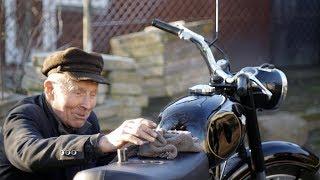 Marian Sankowski - mechanik motocyklowy z Ryk