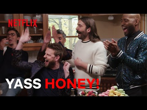 The Queer Eye Fab Five Being EXTRA | Netflix