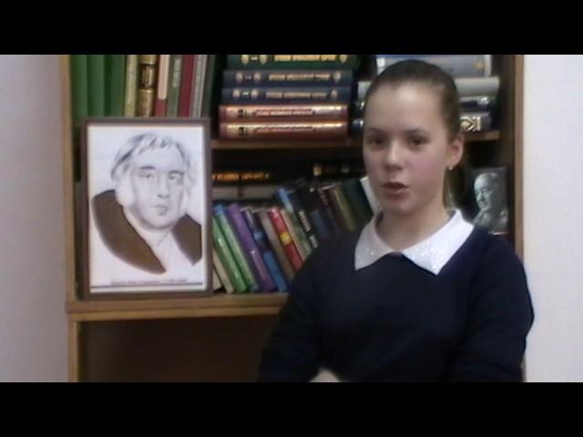 Изображение предпросмотра прочтения – МарияПивоварчук читает произведение «Ворона и Лисица» И.А.Крылова