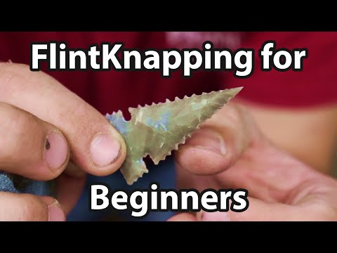 How To Make An Arrowhead . An Intensive Breakdown For Beginner Flint Knappers