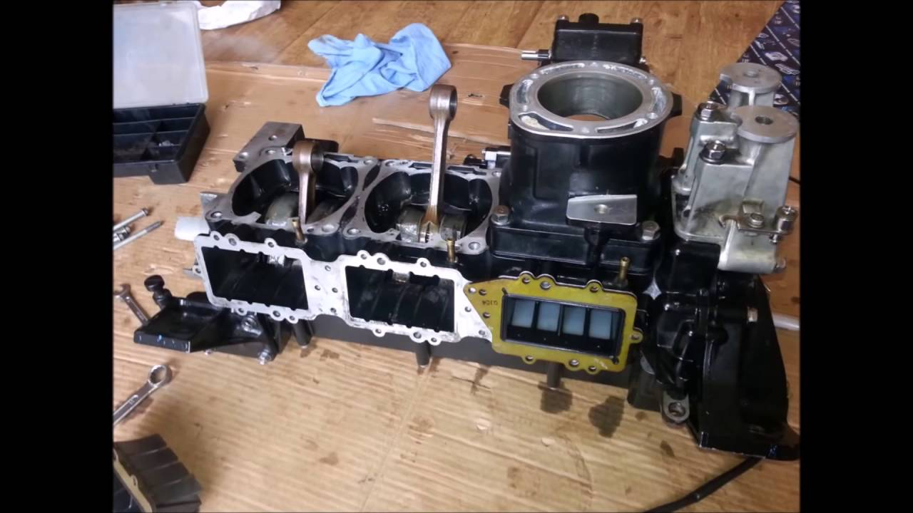 Rebuilding Engine of Yamaha 1200 XL WaveRunner Jet Ski