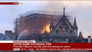 Notre Dame Cathedral on Fire Updates