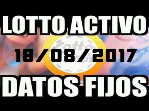 LOTTO ACTIVO DATOS FIJOS PARA GANAR  18/08/ 2017 cat06