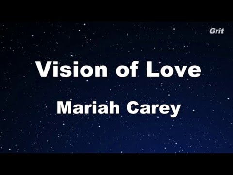 Vision Of Love - Mariah Carey Karaoke 【No Guide Melody】 Instrumental
