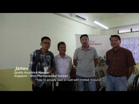 Singapore - West Pharmaceutical Services Testimonial: Team Building in Singapore