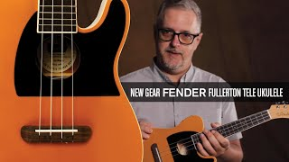 Uke Review: Fender Delivers Good Tone and Good Fun with the Fullerton Tele Uke