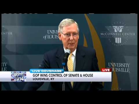 Senate Majority Leader McConnell post-Election Day conference