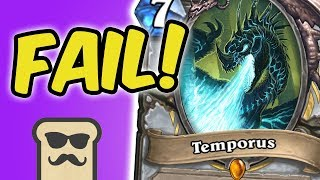 WORST LEGENDARY EVER: TEMPORUS | OTK PRIEST | KOBOLDS AND CATACOMBS | HEARTHSTONE | DISGUISED TOAST