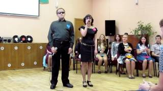 �������� ���� Дмитрий Задрейко и Марина Нерушэва выступление в Торговом колледже города Минска ������