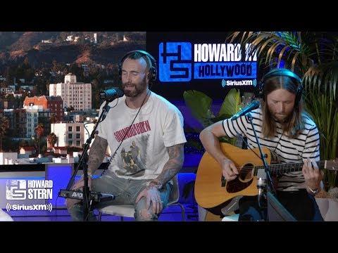 "Adam Levine & James Valentine ""Memories"" Live On The Howard Stern Show"
