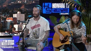 "Cover images Adam Levine & James Valentine ""Memories"" Live on the Howard Stern Show"