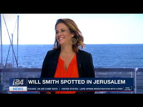 Will Smith in Israel