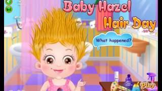 Мини игра уход за волосами Хейзел