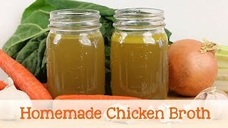 Homemade Chicken Broth Recipe For Babies And Toddlers