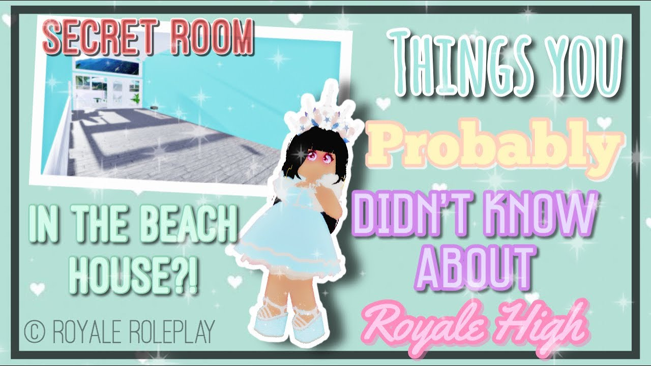 Things You Probably Didn't Know About Royale high|| Pt2|| Royale Roleplay|| Ft 1min of Mariaakari