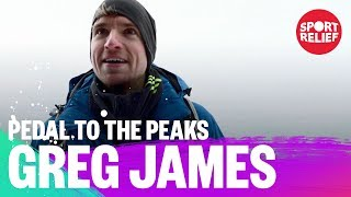 Greg James: Pedal to the Peaks for Sport Relief 2018 - BBC