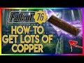 Fallout 76 - Best Place To Find Copper