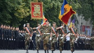 "Military parade - 25th anniversary of ""Independence"" of Republic of Moldova"