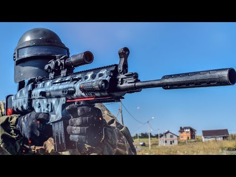 SCAR-L TRIFECTA FROM PUBG HOW TO MAKE IN REAL LIFE DIY