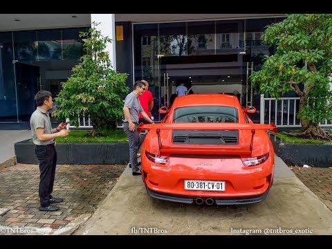 Cường Đô La cùng chiến hữu trải nghiệm siêu xe Porsche 911 GT3 RS mới tậu
