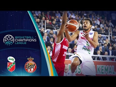 Pinar Karsiyaka v AS Monaco - Highlights - Basketball Champions League 2017-18