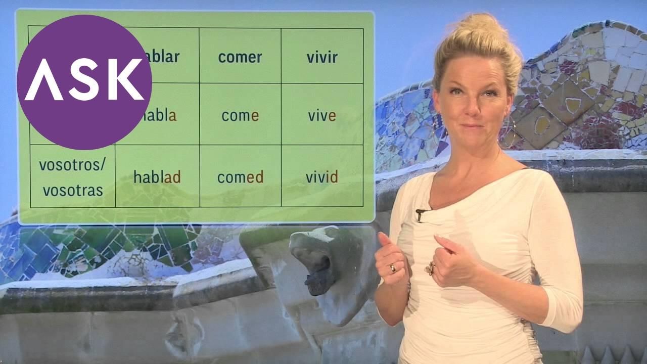 Spansk grammatikk: bekreftende imperativ regelrett form