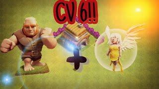 Estratégia De Ataque Para CV6!!! - Clash Of Clans