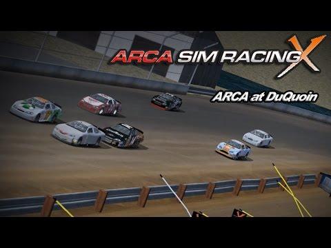 ARCA Sim Racing (League Race) - ARCA at Duquoin (Thursday, 30 July 15)