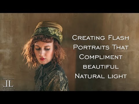 How to Use Undiffused, Unmodified Flash for Portraits that Complement Natural Light